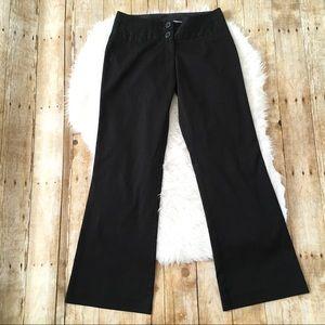 Women's Maurices black dress pants 3/4 Regular